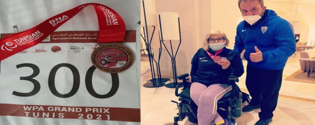 Χάλκινο μετάλλιο στο ακόντιο στο Γκραν Πρι της Τυνησίας από την Ανθή Λιάγκου