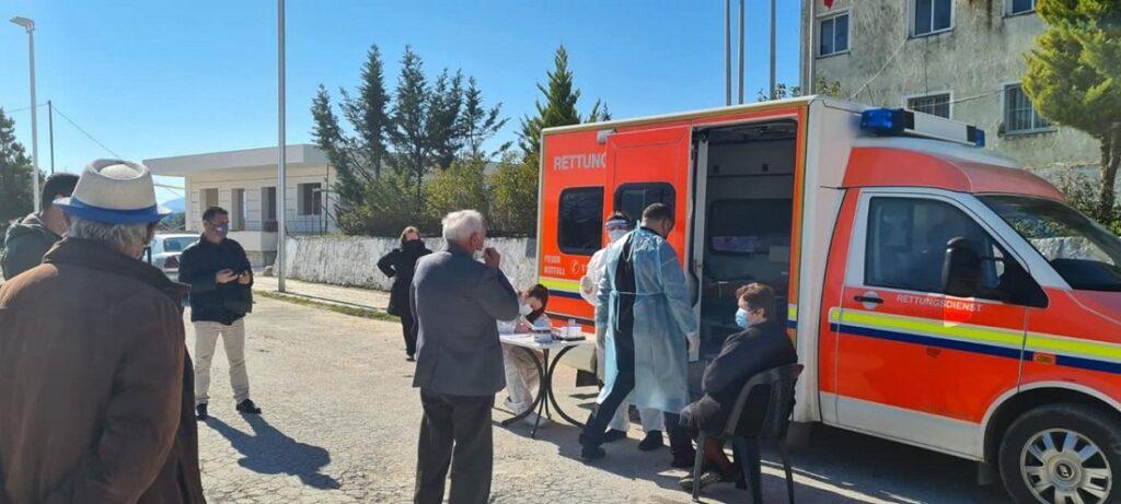 Δωρεάν rapid test για την Εθνική Ελληνική Μειονότητα από την Ελληνική Πρεσβεία στα  Τίρανα