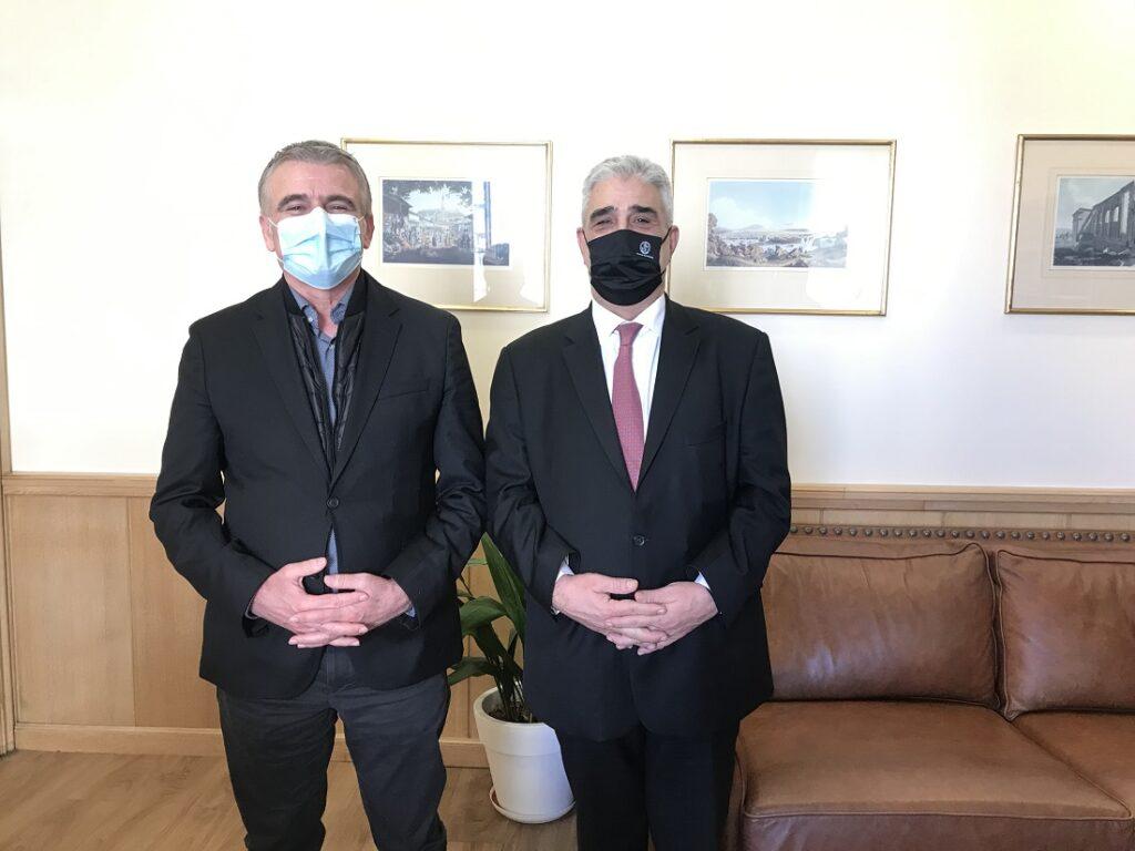 Συνάντηση του Επικεφαλής της παράταξης «Ανεξάρτητη Συμμαχία για την Αττική» με τον Αντιδήμαρχο Αθηναίων κ. Ελευθέριο Σκιαδά